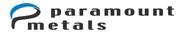 paramount metals logo